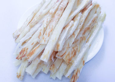 China Salty Dried Shredded Squid Strip Thailand , Grill Roasted Slip Squid factory