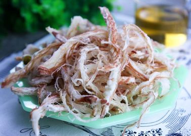 Seasoned Sun Dried Squid Strip Roasted By Iron Plate Iso22000 Certification